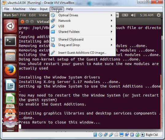 docker ubuntu x11 on windows